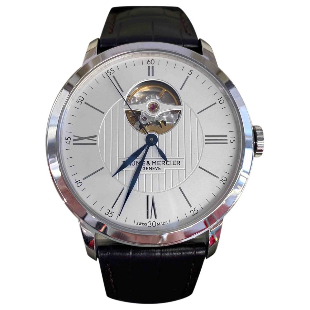 Baume Et Mercier Classima Silver Steel watch for Men N