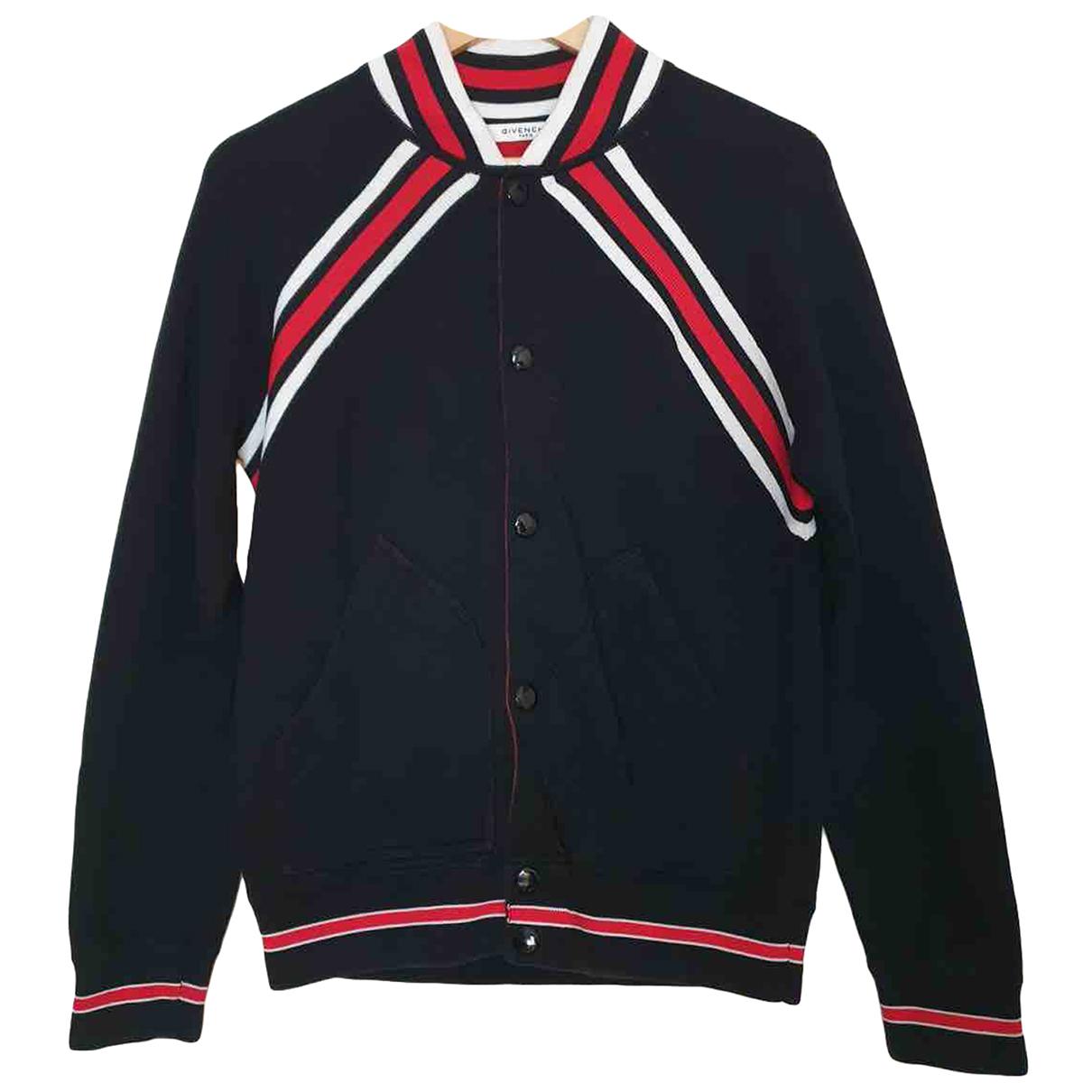 Givenchy N Black Cotton jacket  for Men M International