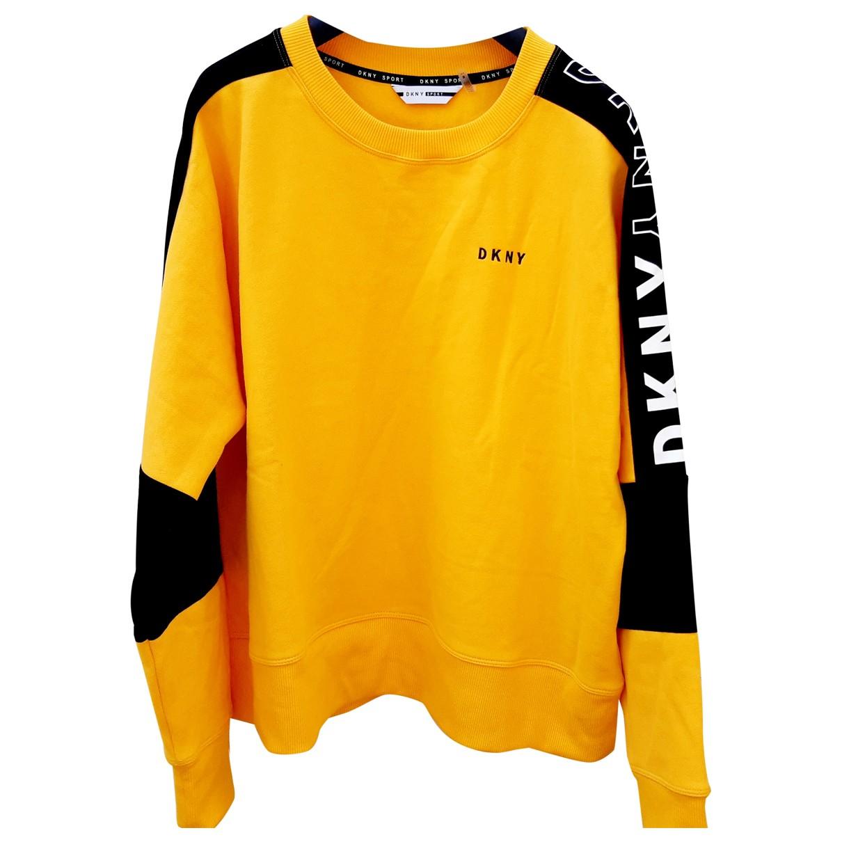 Dkny \N Yellow Cotton  top for Women M International