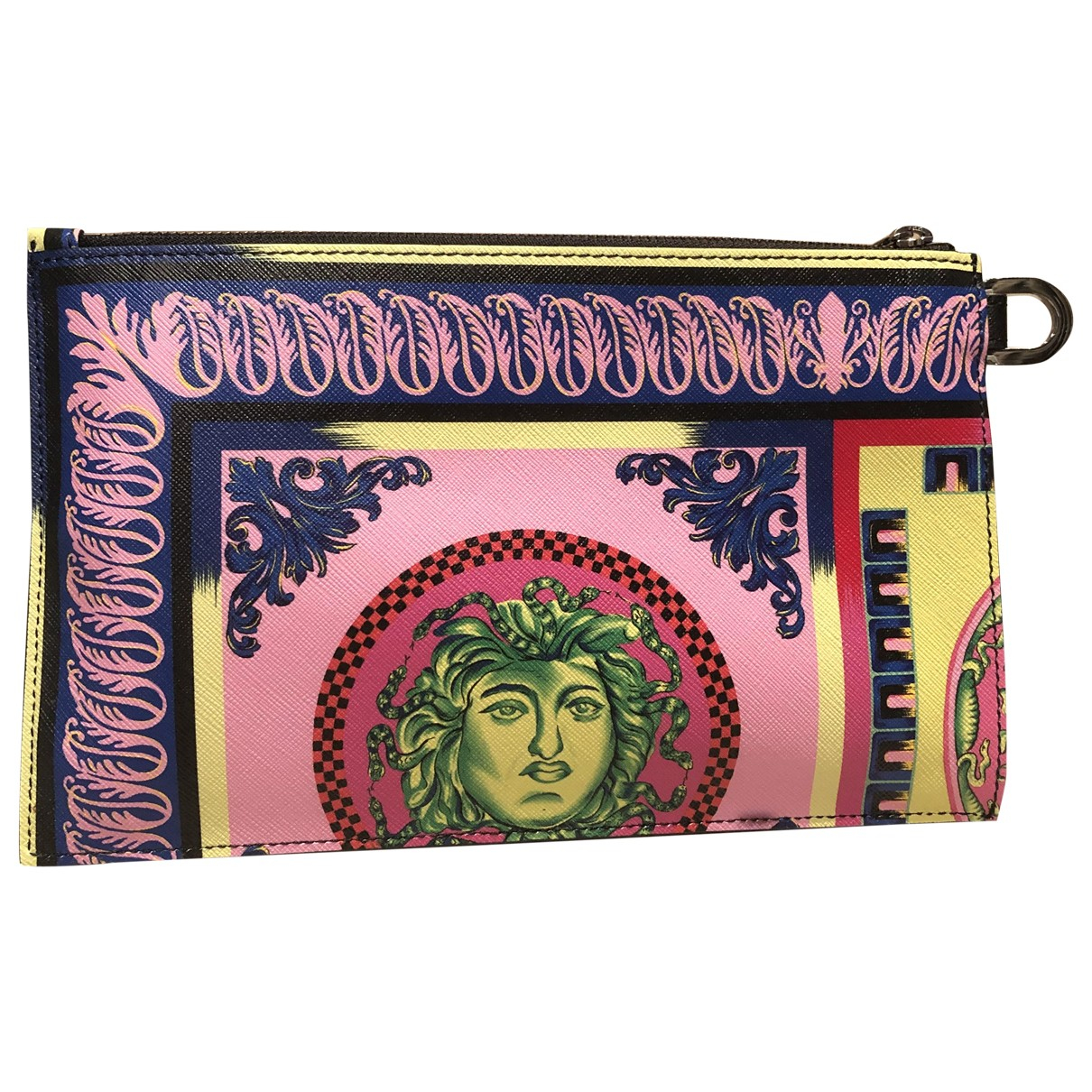Versace \N Multicolour Leather Small bag, wallet & cases for Men \N