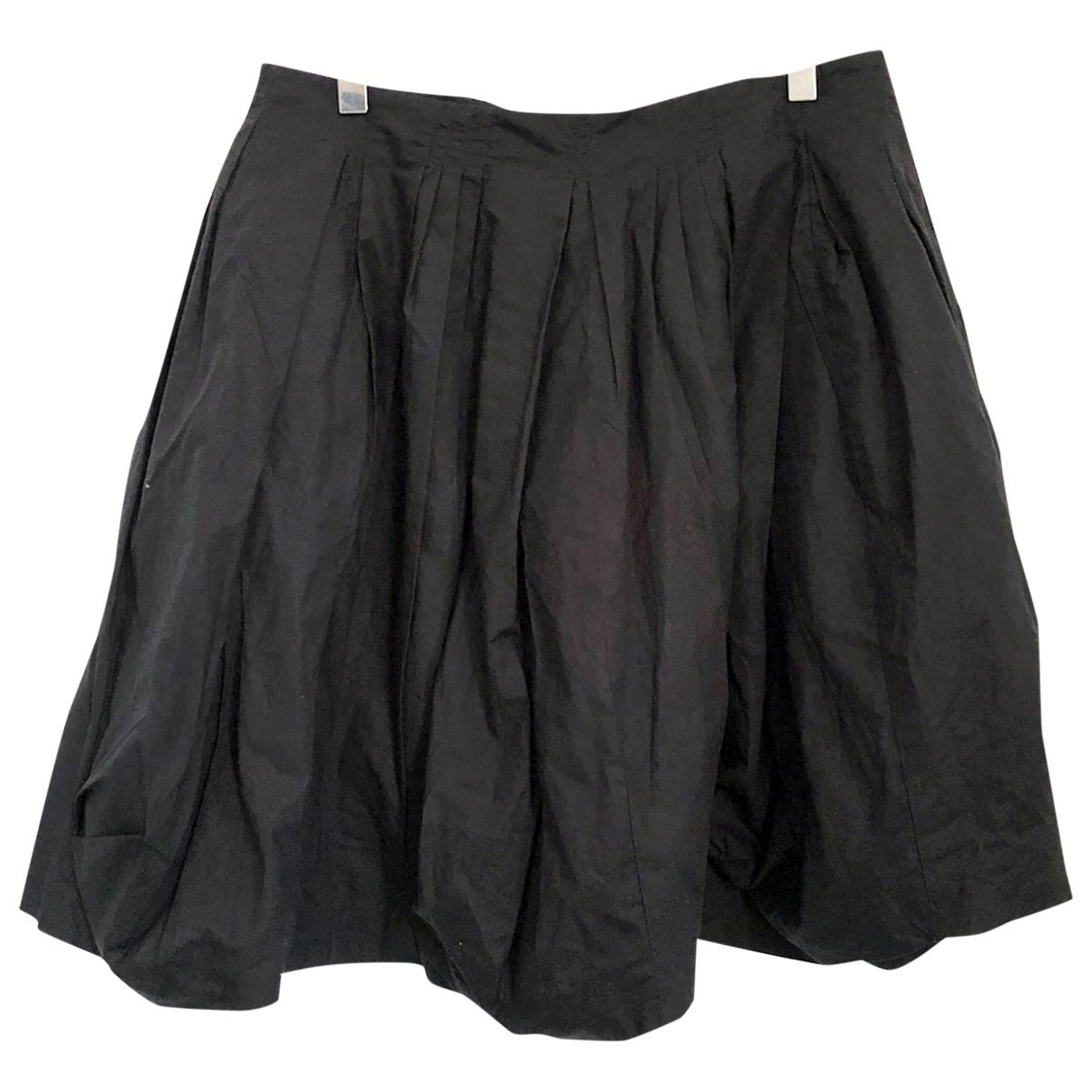 Acne Studios - Jupe   pour femme en coton - noir