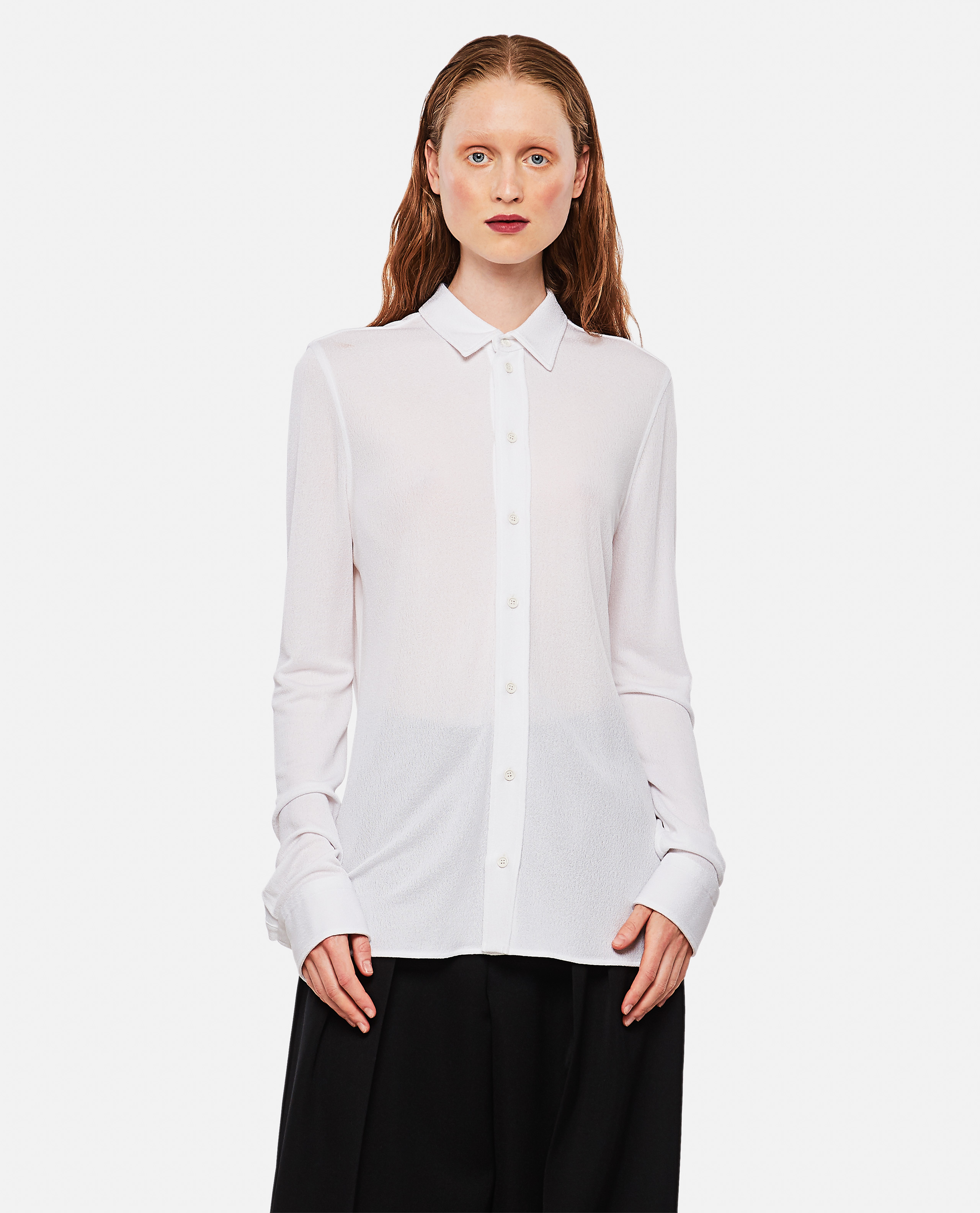 Long-sleeved jersey shirt