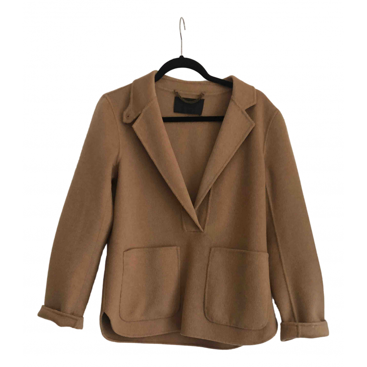J.crew \N Brown Cashmere coat for Women 4 US