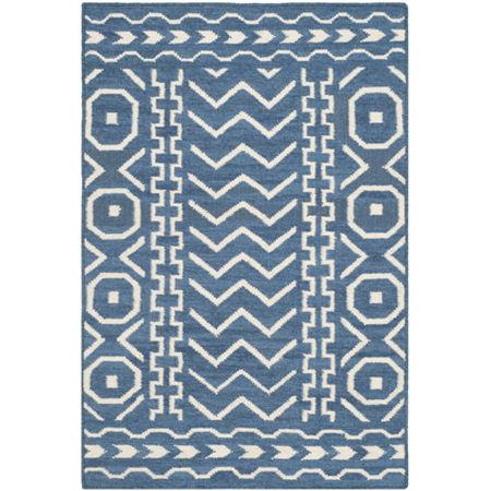 Safavieh Leann Hand Woven Flat Weave Area Rug, One Size , Blue