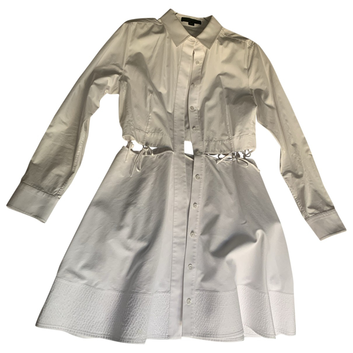 Alexander Wang - Robe   pour femme en coton - blanc