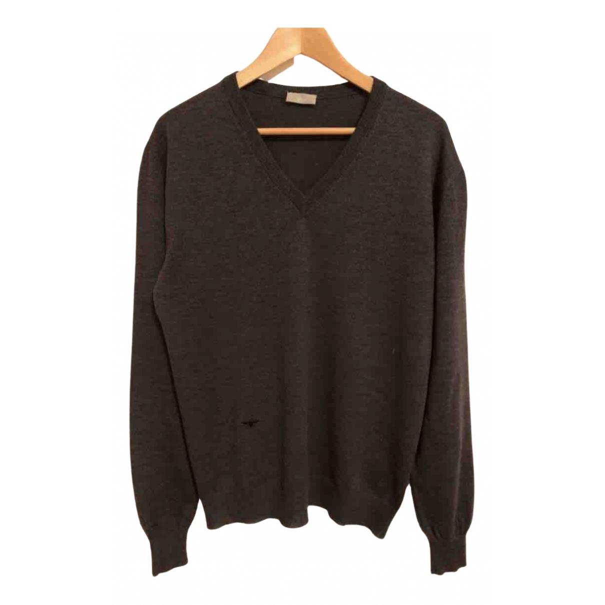 Dior Homme \N Pullover.Westen.Sweatshirts  in  Braun Wolle
