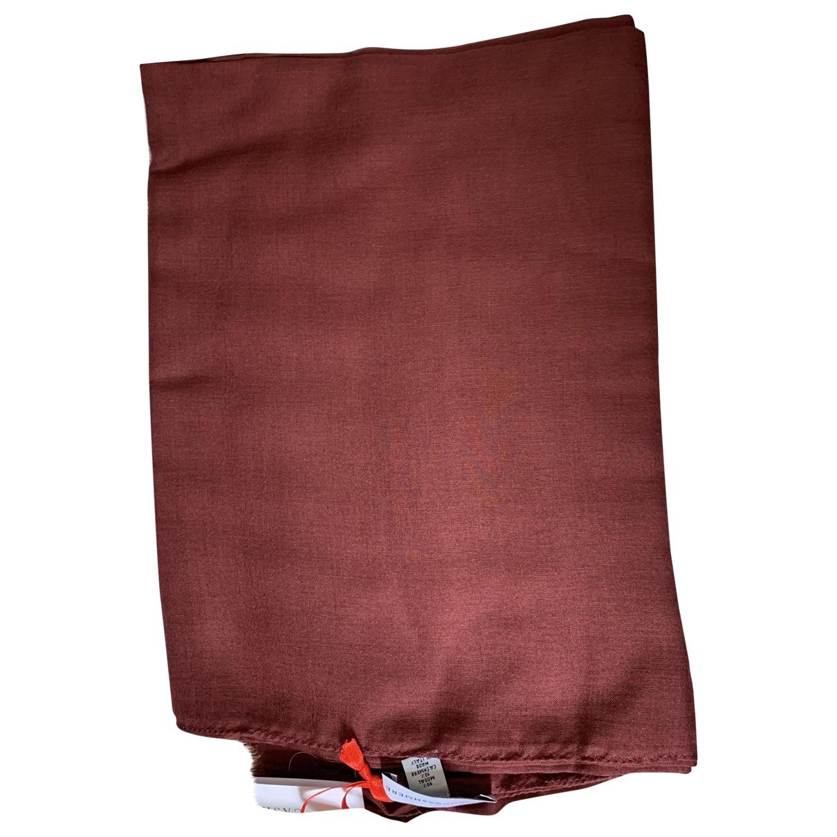 - Foulard   pour femme en cachemire - bordeaux