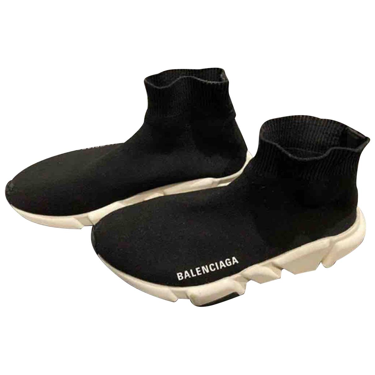 Balenciaga - Baskets Speed pour femme en toile - noir
