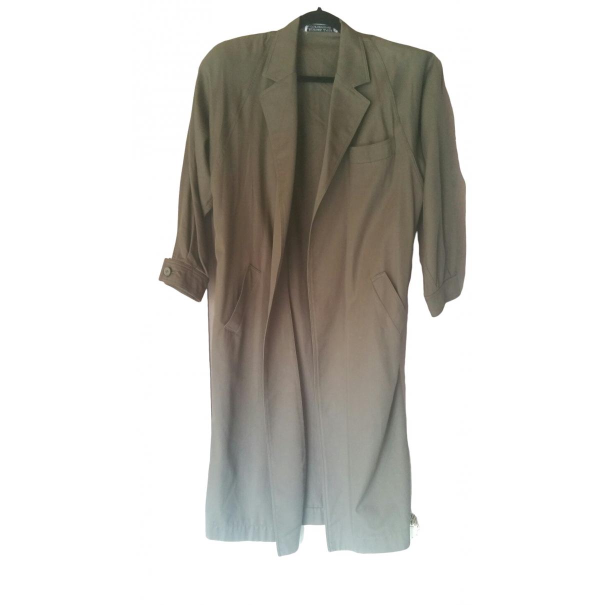 Dior \N Brown Cotton coat for Women L International