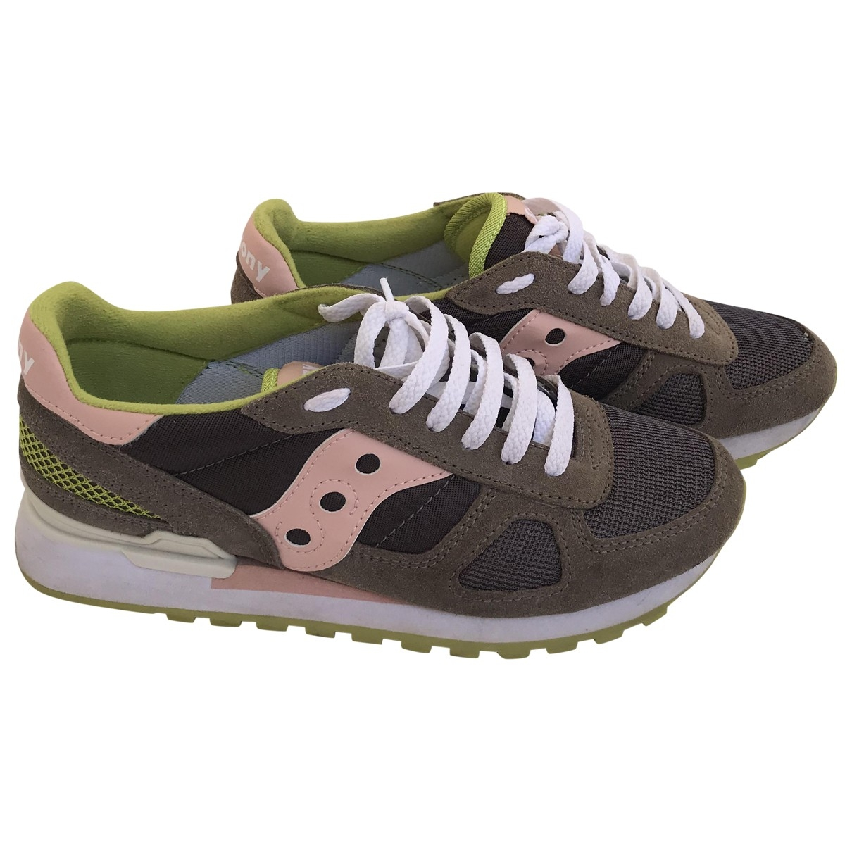 Saucony \N Grey Suede Trainers for Women 39 EU
