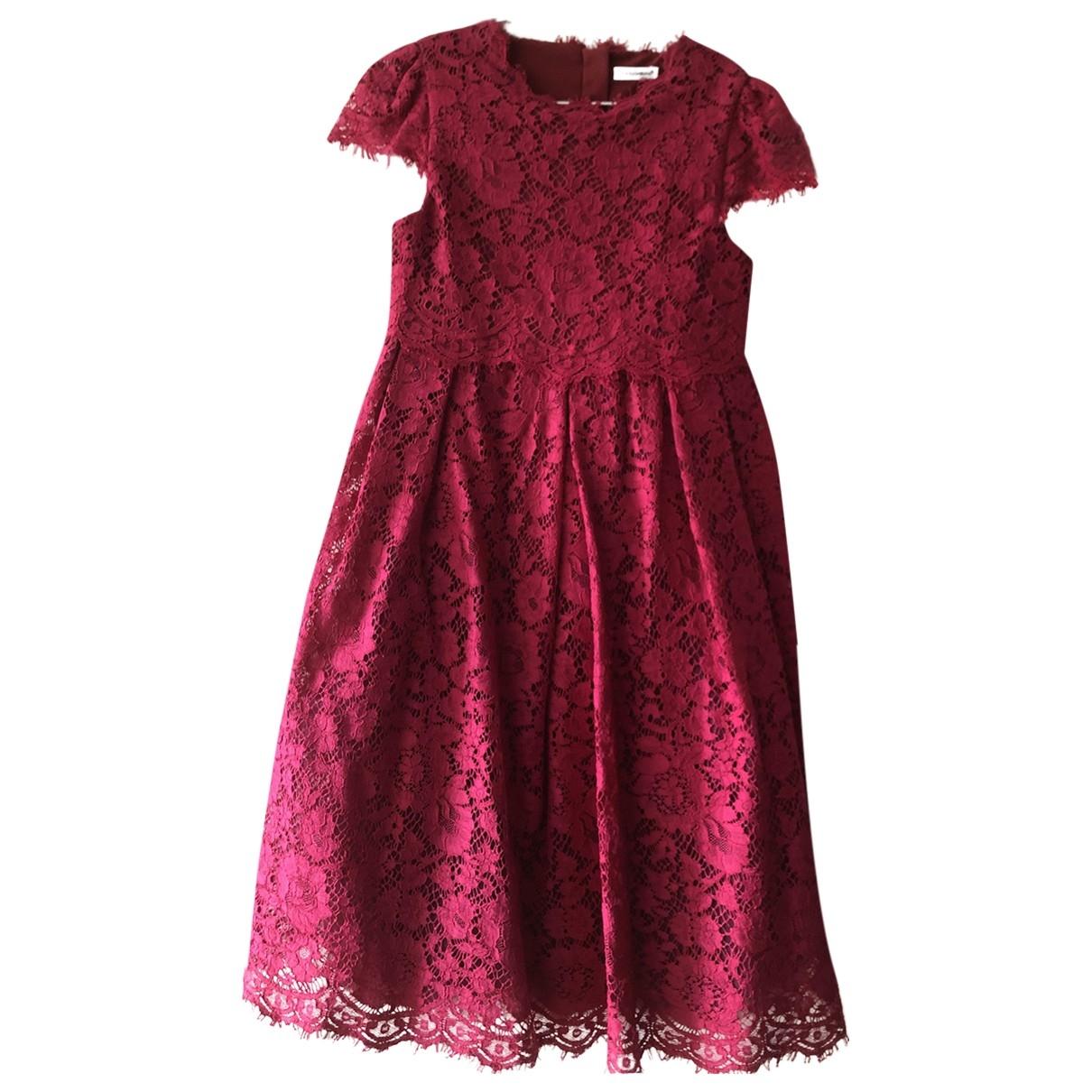 Dolce & Gabbana - Robe    pour enfant - rose