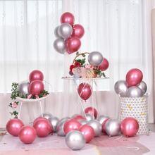 50 Stuecke Einfarbiger Ballon Set