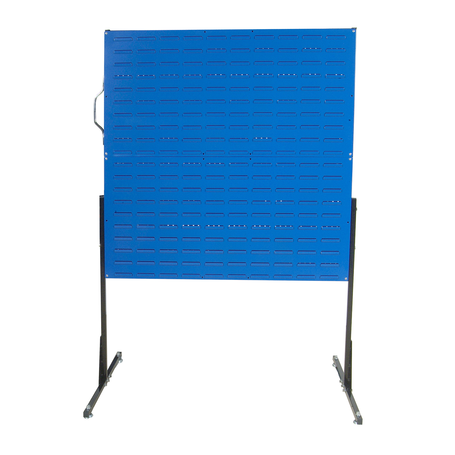 50 In. W Free-Standing Unit with 4 Louvered Panels