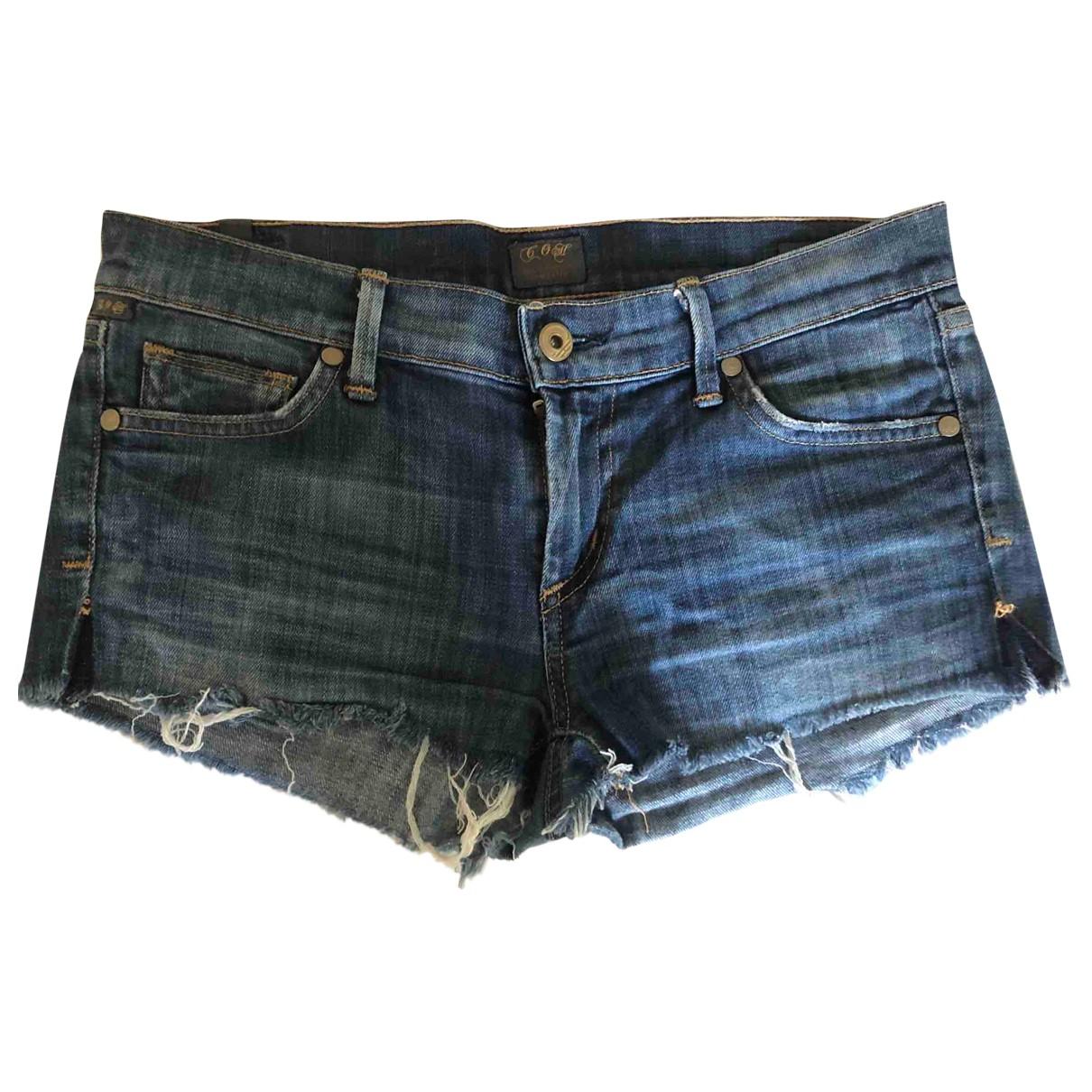Citizens Of Humanity \N Shorts in  Blau Baumwolle - Elasthan