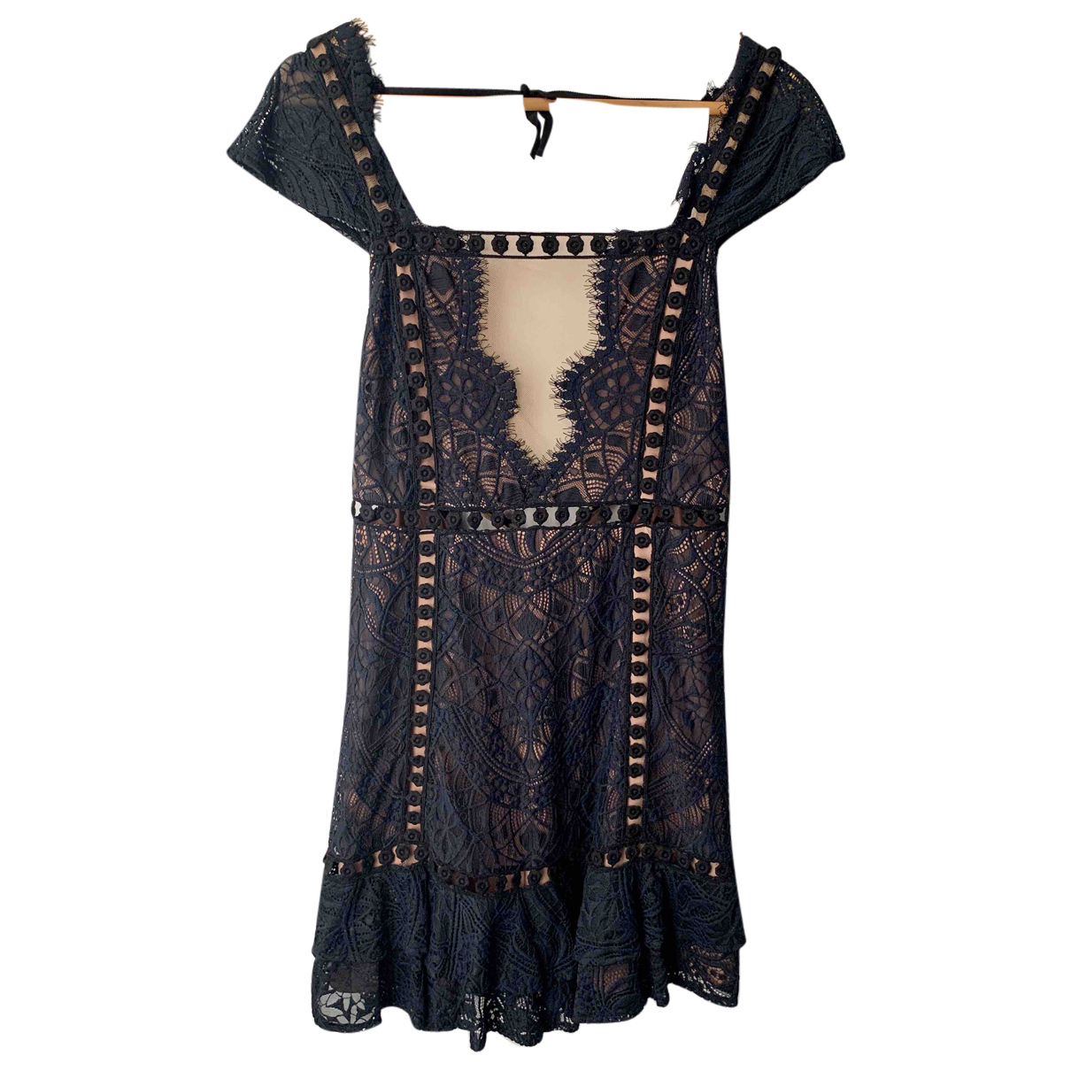 For Love & Lemons N Blue Lace dress for Women M International