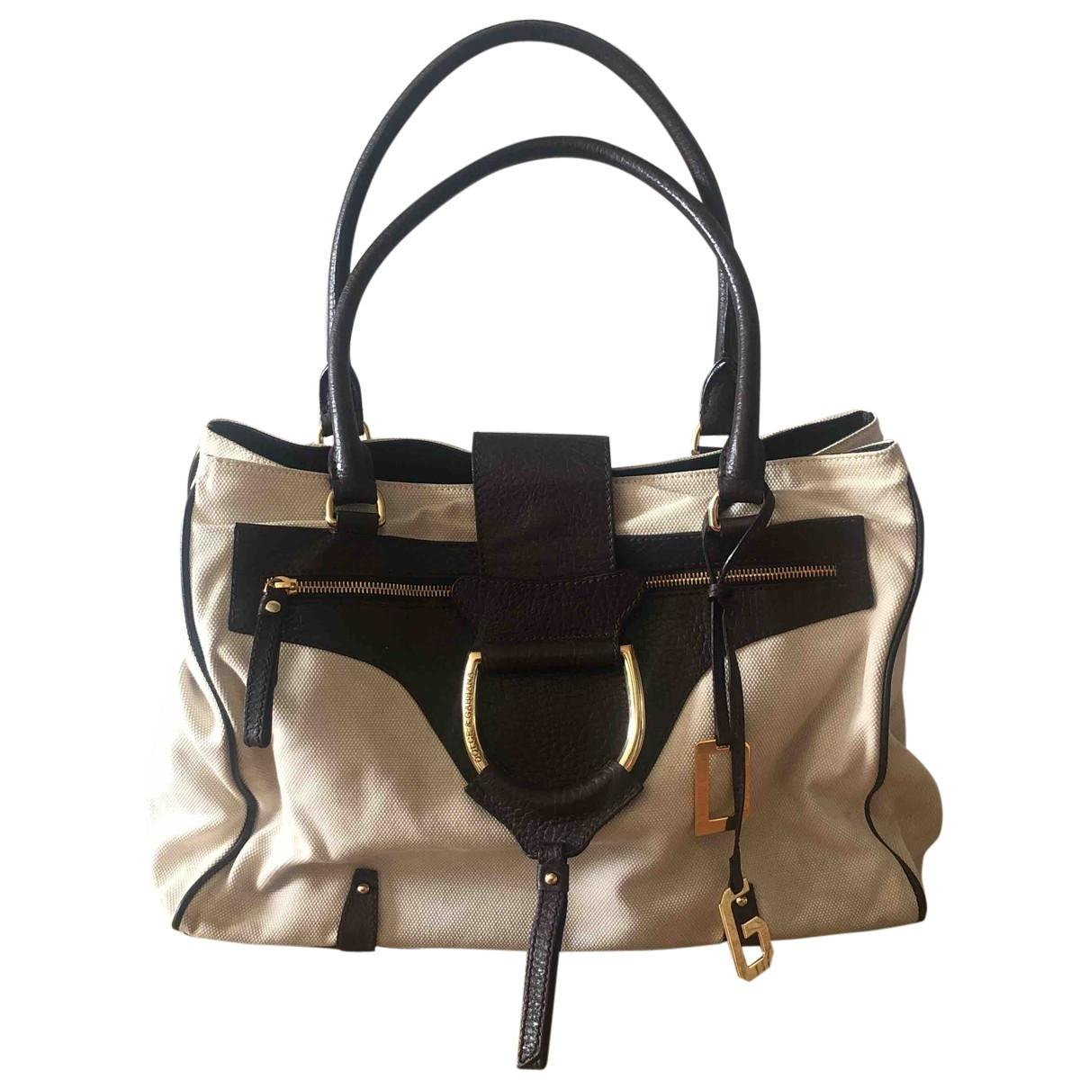 Dolce & Gabbana \N Ecru Cloth handbag for Women \N