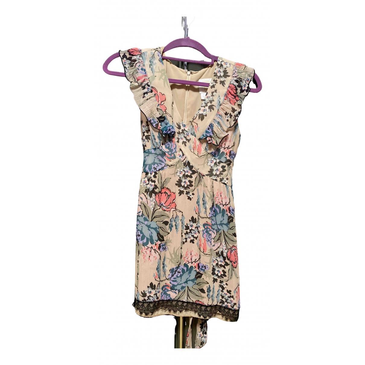 Anna Sui - Robe   pour femme en soie - beige