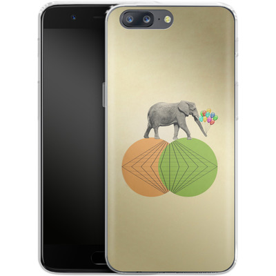 OnePlus 5 Silikon Handyhuelle - Balloney Fant von Mark Ashkenazi