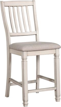 Kaliyah Collection CM3194PC-2PK Counter Height Chair (Set of 2) in Antique