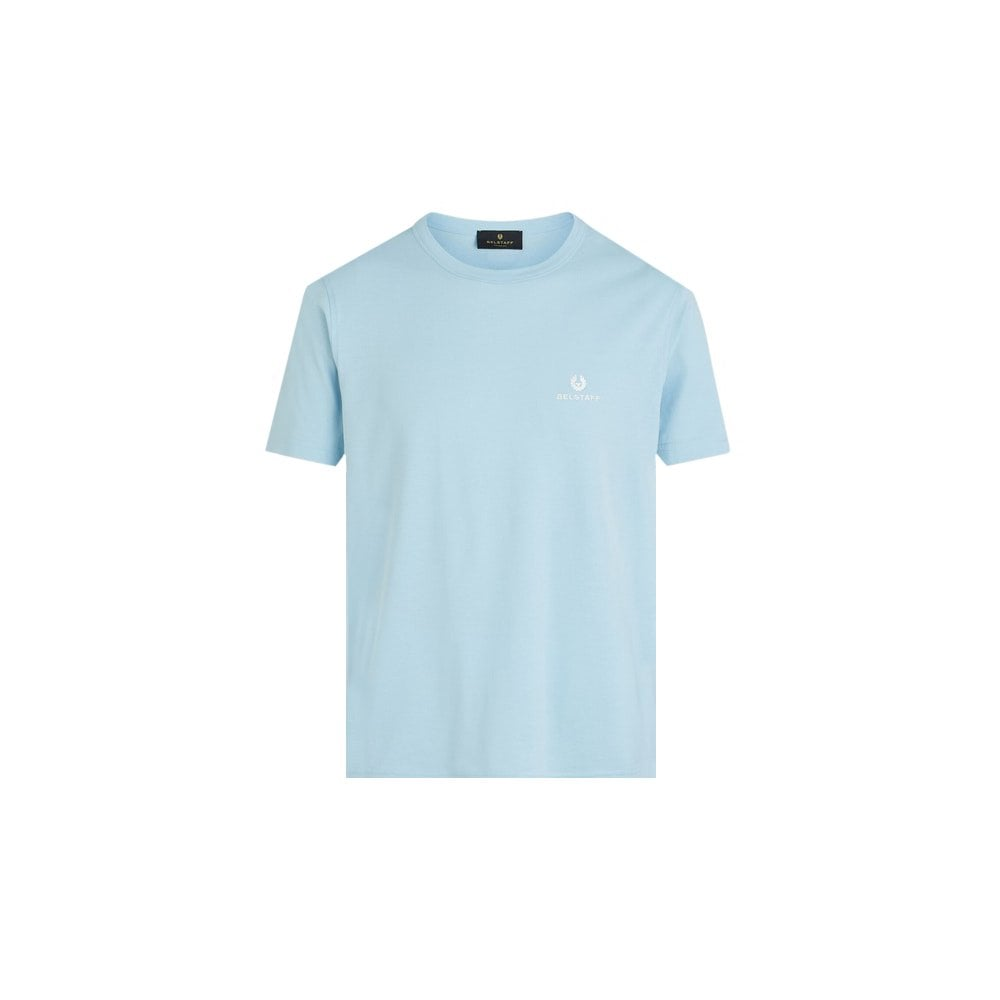 Belstaff Short Sleeved T-shirt Colour: BLUE, Size: LARGE