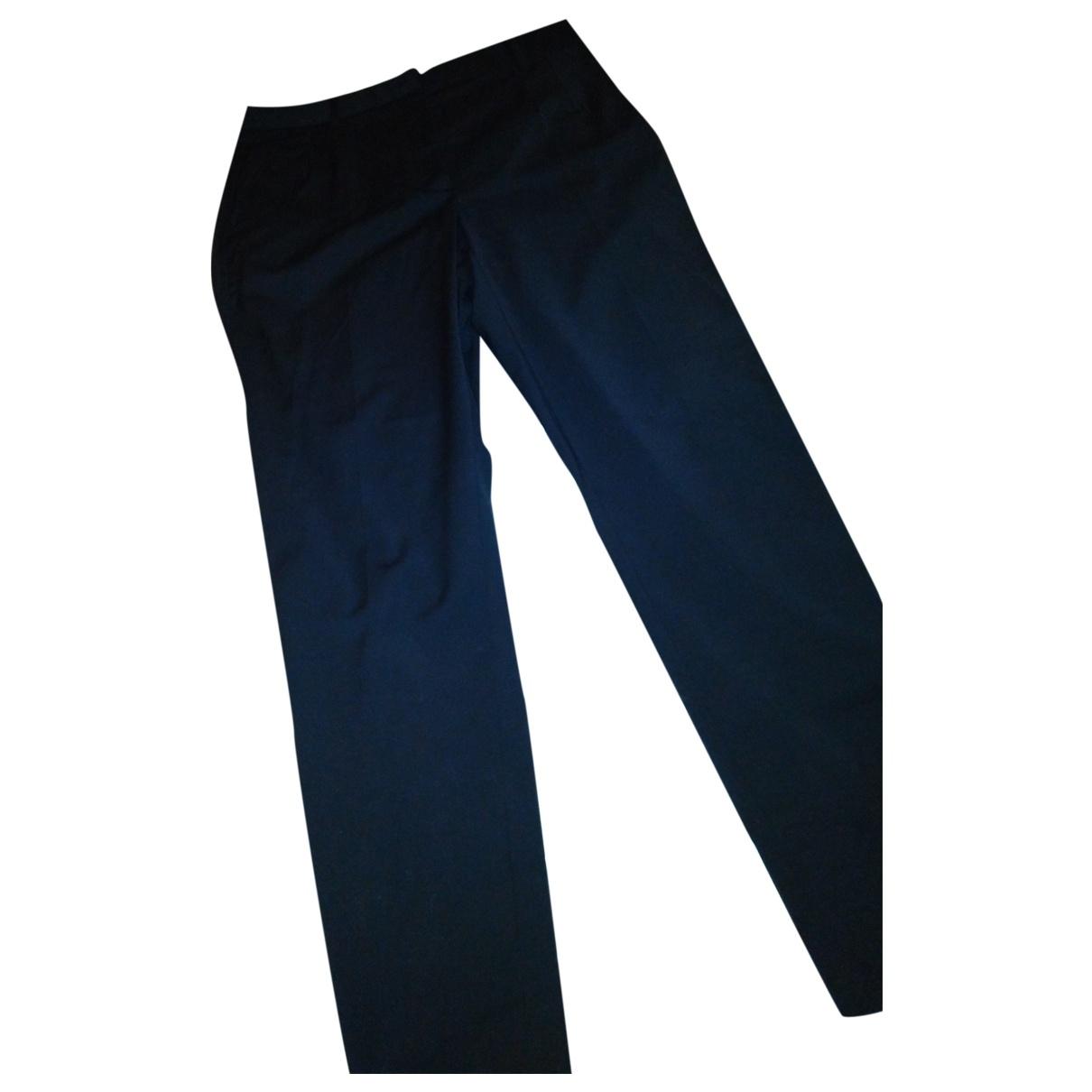 Dolce & Gabbana \N Grey Wool Trousers for Women 44 IT