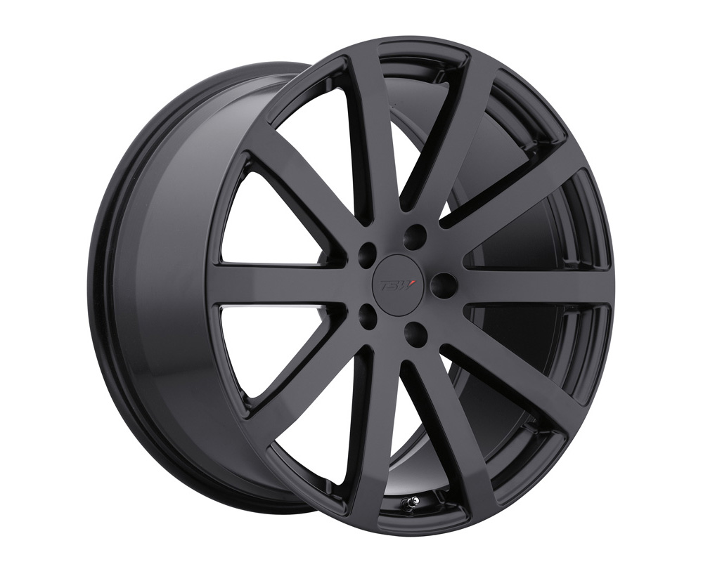 TSW Brooklands Wheel 17x8 5x112 32mm Matte Black