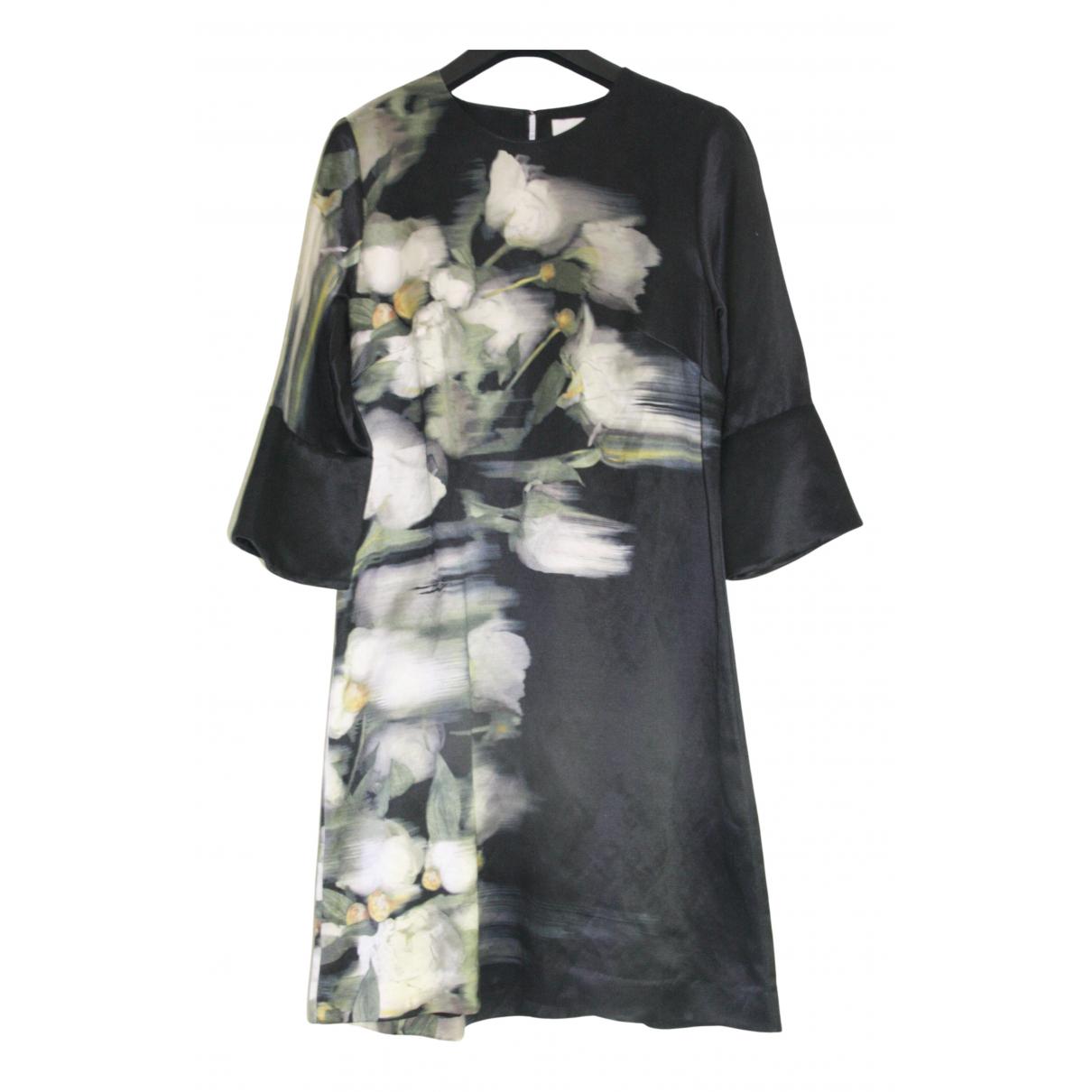 H&m Conscious Exclusive - Robe   pour femme en soie - noir