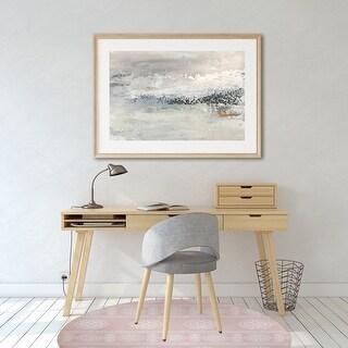 DAMASCUS Office Mat By Kavka Designs (Pink, White, Blue)