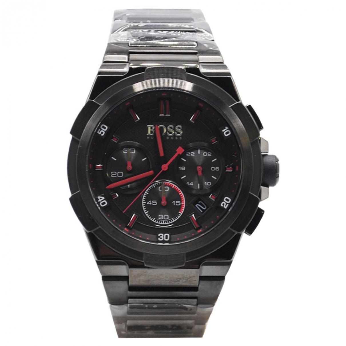 Hugo Boss \N Grey Steel watch for Men \N