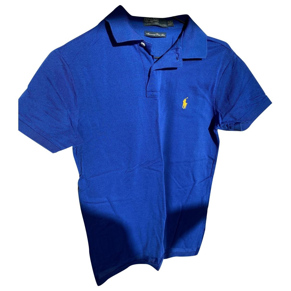 Polo Ralph Lauren \N Blue Cotton Polo shirts for Men S International