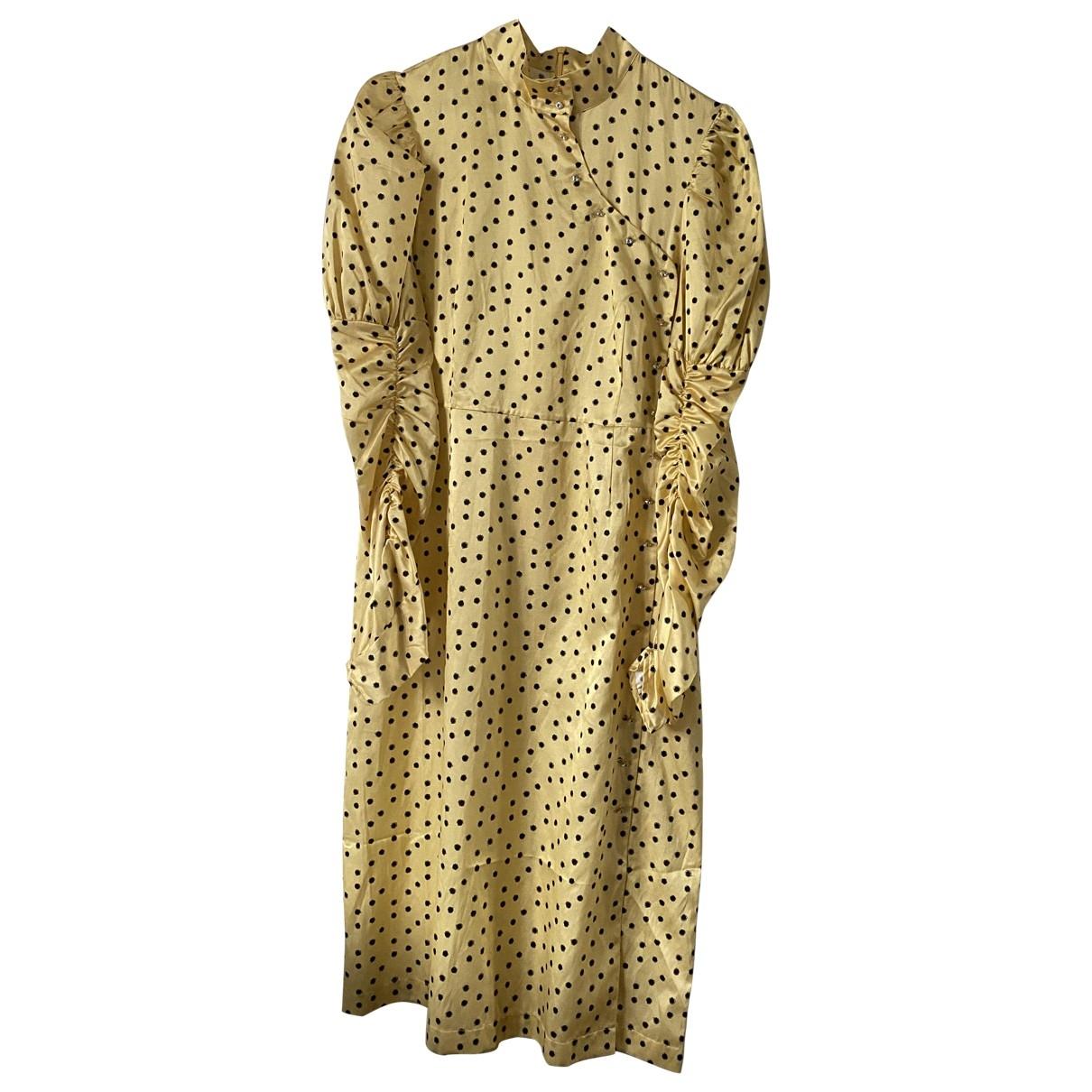 Shrimps \N Yellow Silk dress for Women S International