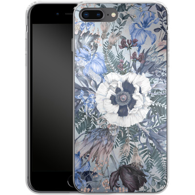 Apple iPhone 8 Plus Silikon Handyhuelle - Frost von Stephanie Breeze