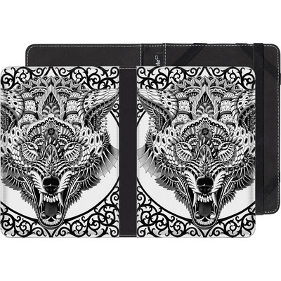 Amazon Kindle Touch eBook Reader Huelle - Wolf Head von BIOWORKZ