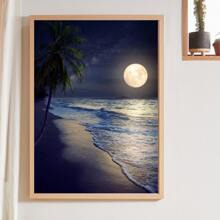 Moonlight Print Wall Painting Without Frame