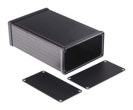 Hammond 1455, Black Aluminium Enclosure, 160 x 103 x 53mm