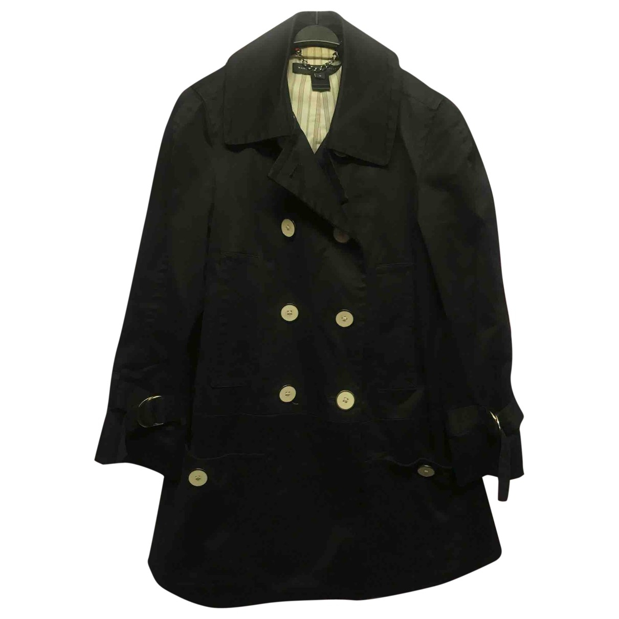 Marc By Marc Jacobs \N Black Cotton coat for Women S International