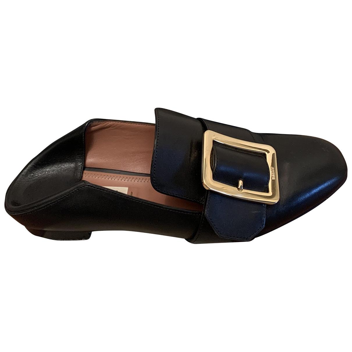 Bally - Sandales   pour femme en cuir - noir