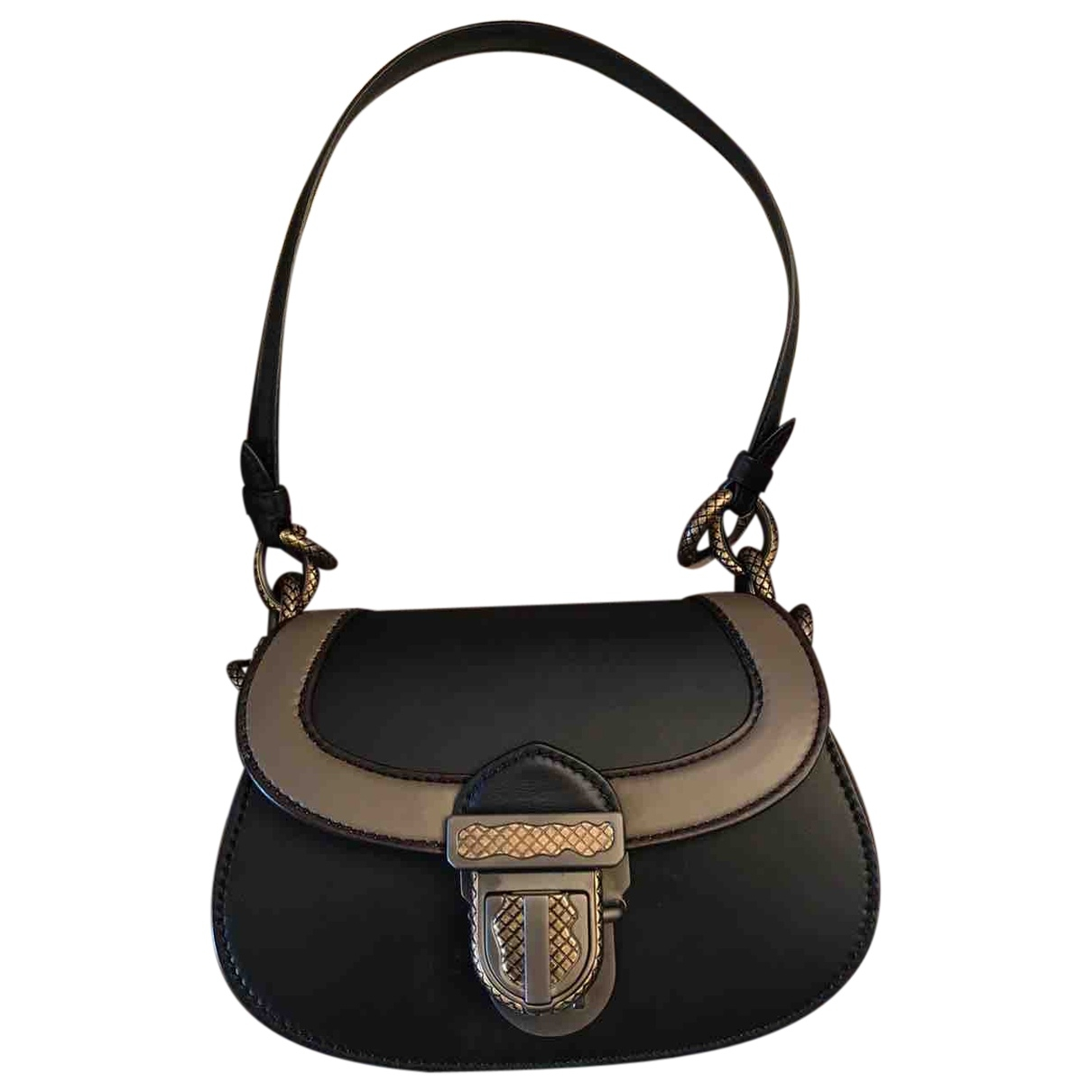 Bottega Veneta Piazza Black Leather handbag for Women \N