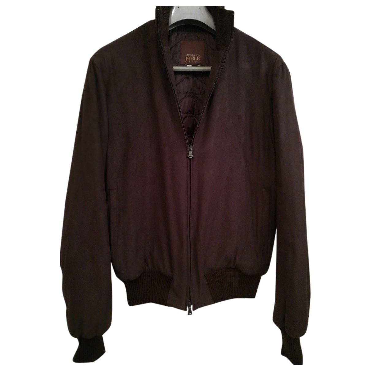 Gianfranco Ferré \N Burgundy Velvet jacket  for Men M International