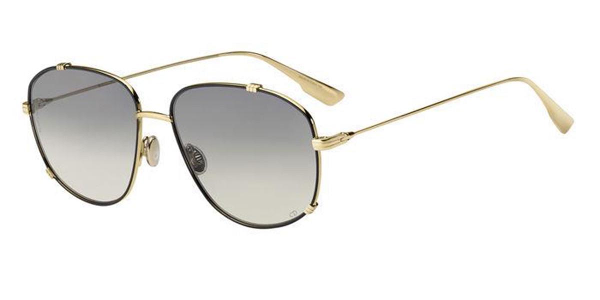 Dior DIOR MONSIEUR3 RHL/1I Men's Sunglasses Gold Size 56