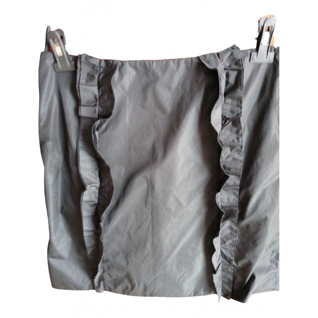 Prada \N Rocke in  Schwarz Polyester