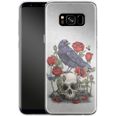 Samsung Galaxy S8 Silikon Handyhuelle - Memento Mori von Terry Fan