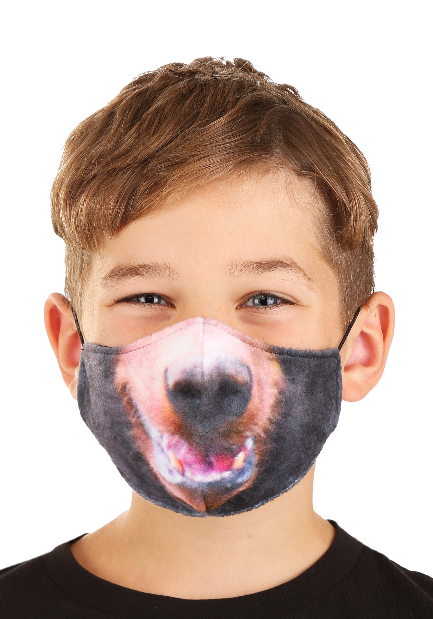 Bear Sublimated Face Mask for Kids