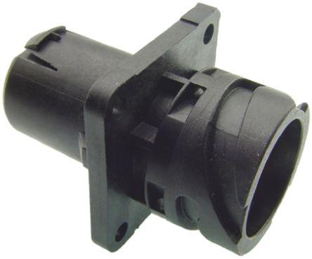 ITT Cannon Connector, 4 contacts Panel Mount Socket, Crimp IP67, IP69K