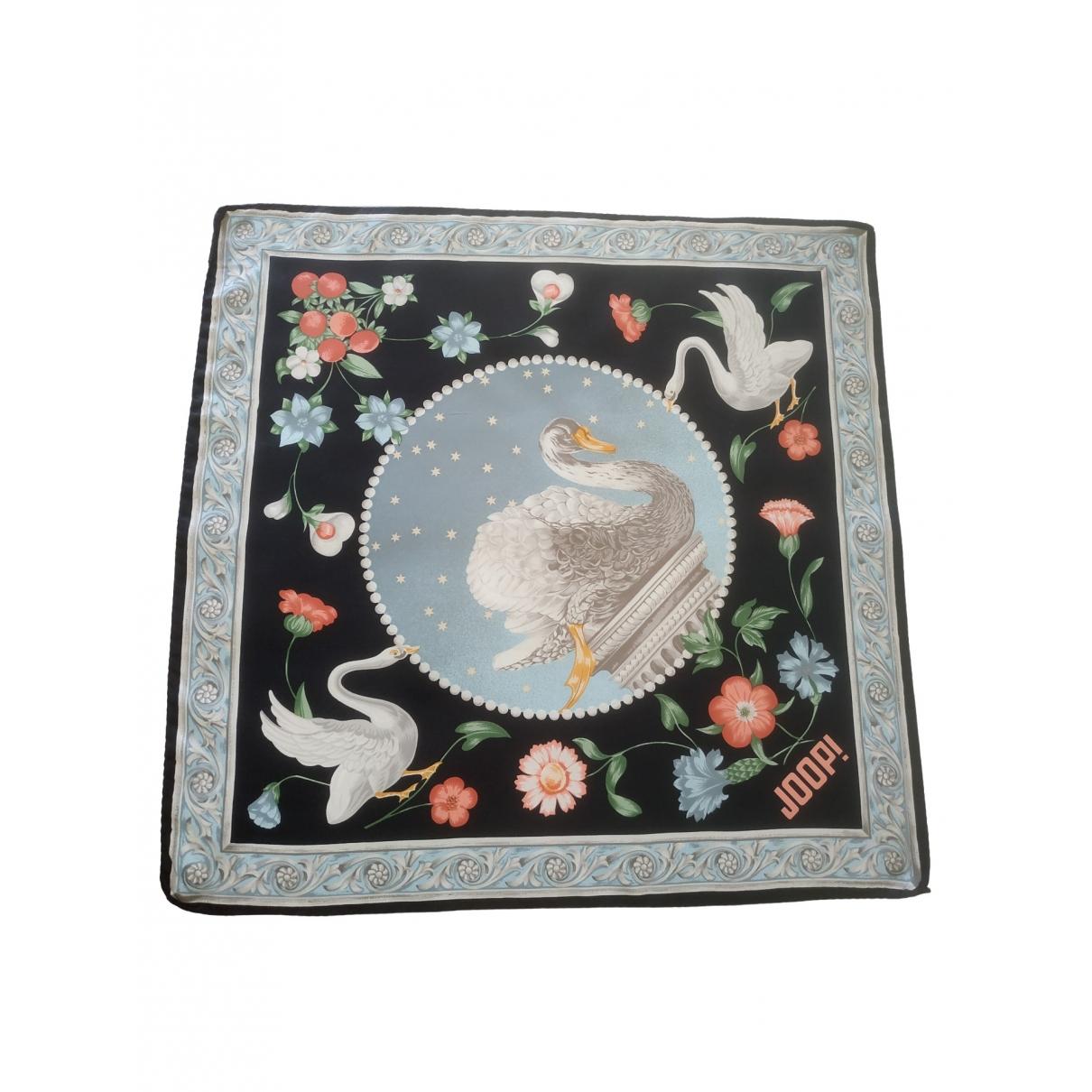 - Foulard   pour femme en soie - noir