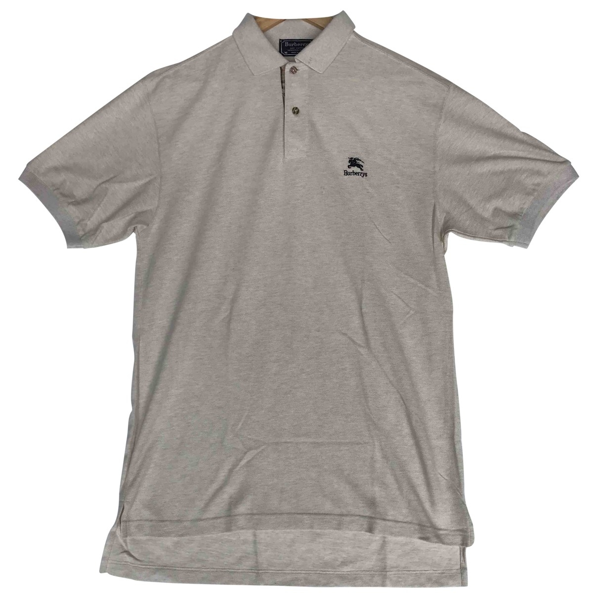 Burberry \N Poloshirts in  Beige Baumwolle