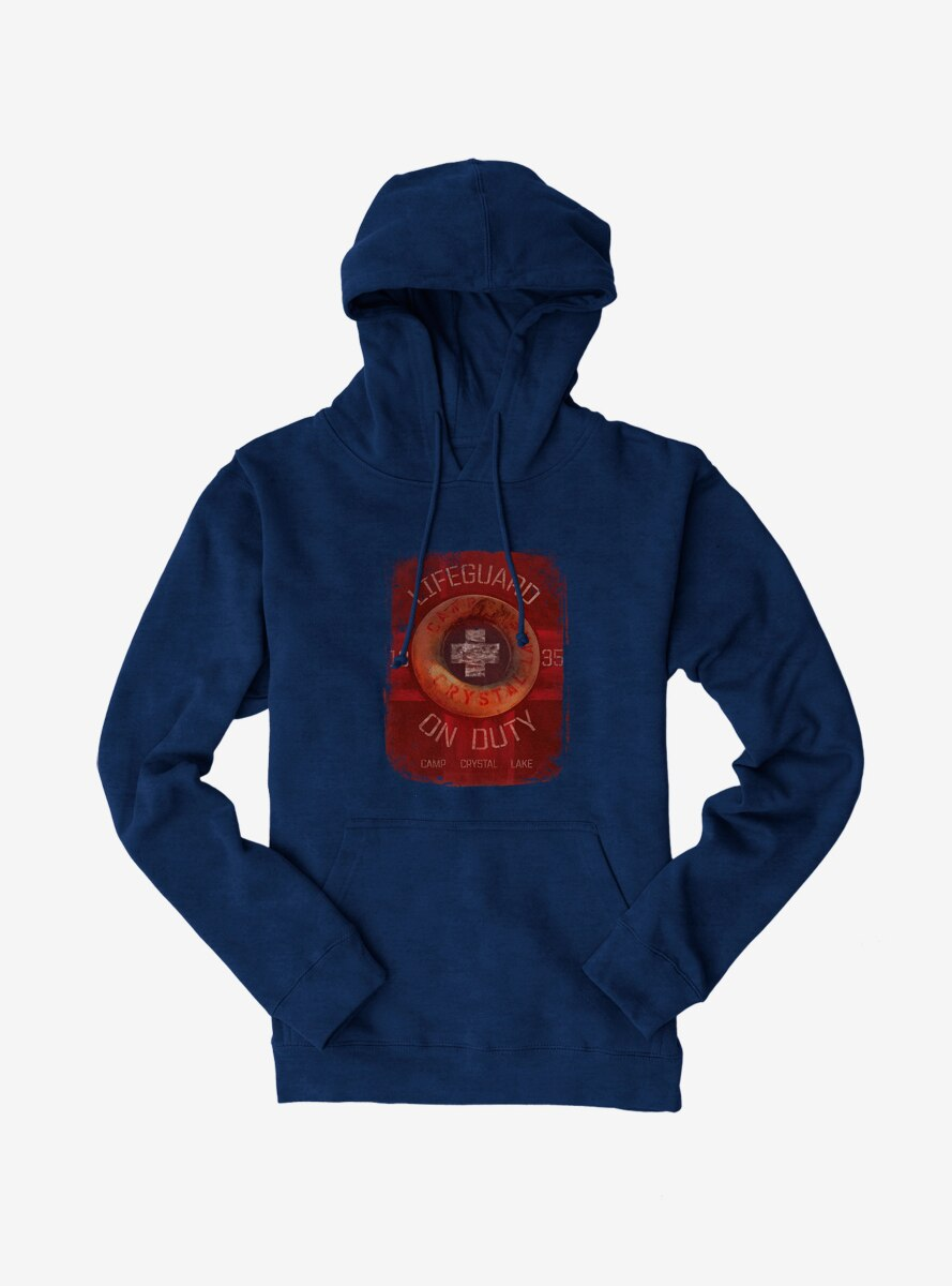 Friday The 13th Lifeguard On Duty Hoodie