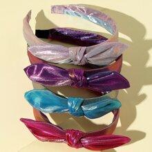 4 piezas aro de pelo de niñitas con lazo