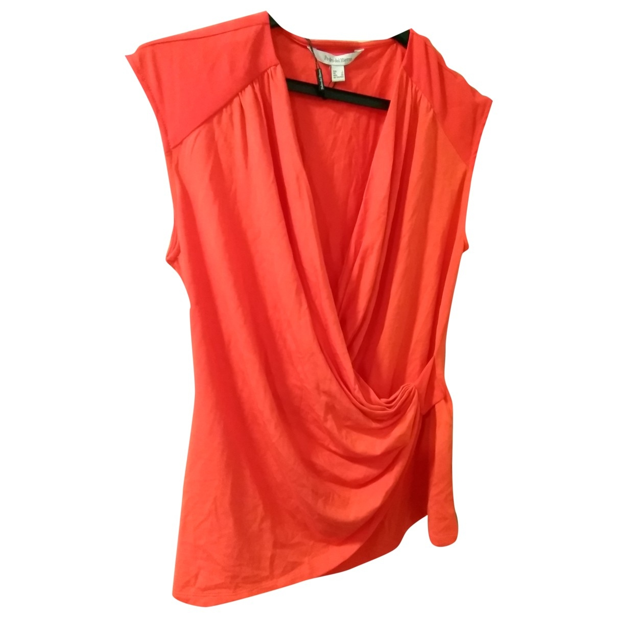 Pedro Del Hierro \N Top in  Rot Polyester
