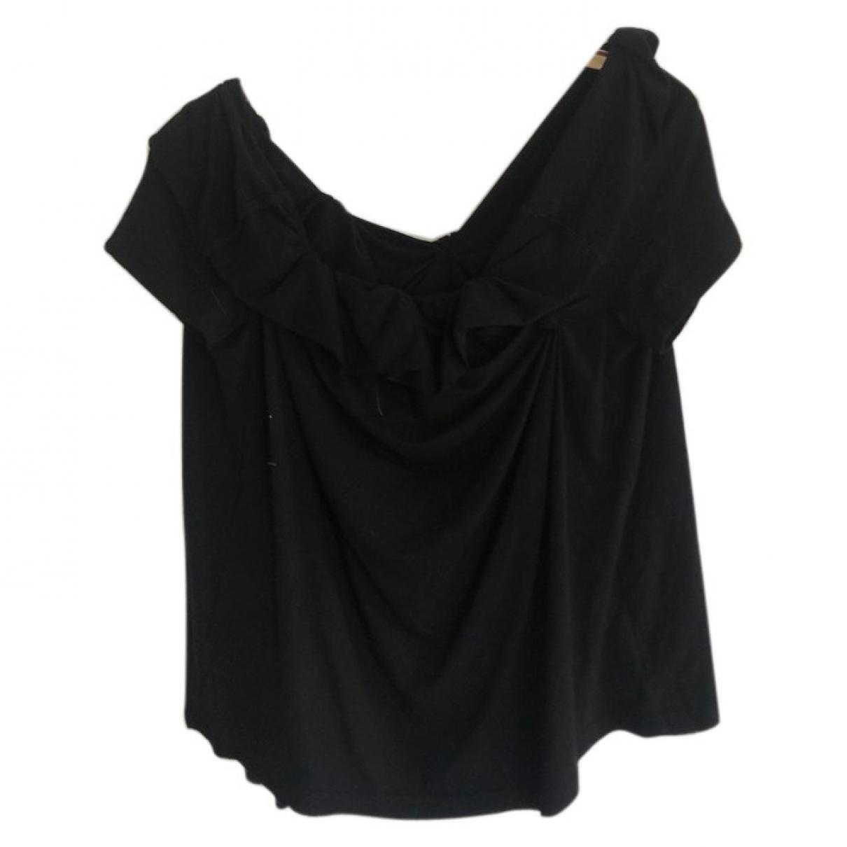 Ivan Grundhal - Top   pour femme en coton - noir